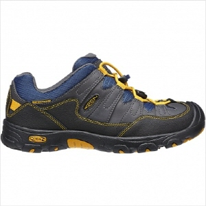 PAGOSA LOW WP C(MAGNET/GOLDEN YELLOW) / KIDS